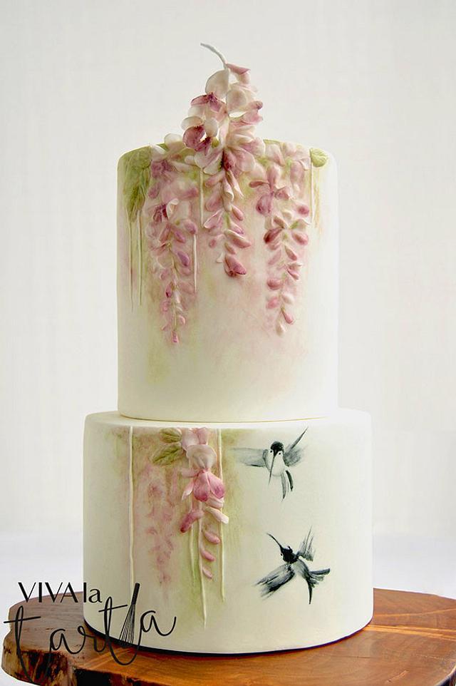 Wisteria Maiden Cake