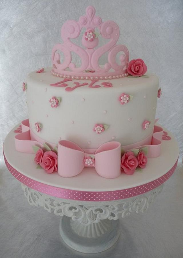 Fantastic Shabby Chic Birthday Cake Cake By Deborah Cakesdecor Personalised Birthday Cards Cominlily Jamesorg