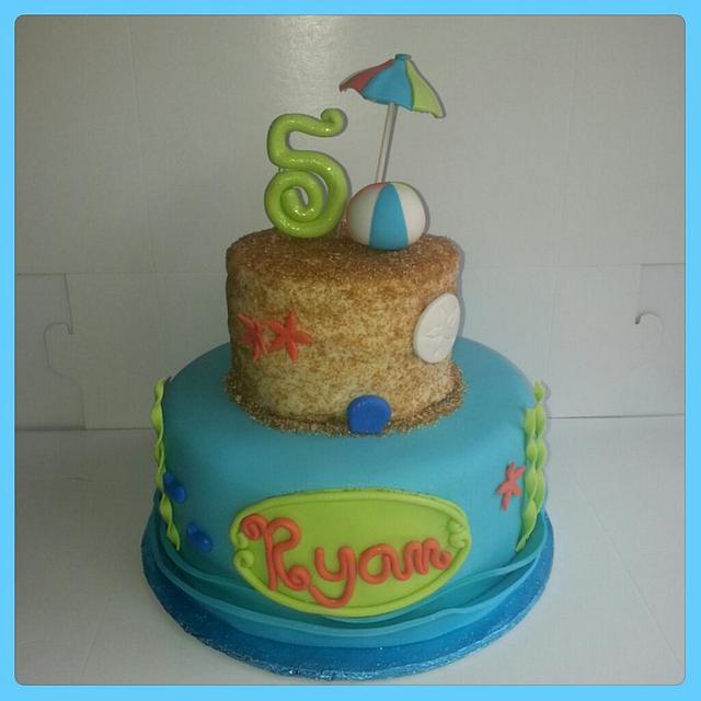 Summer Beach Cake