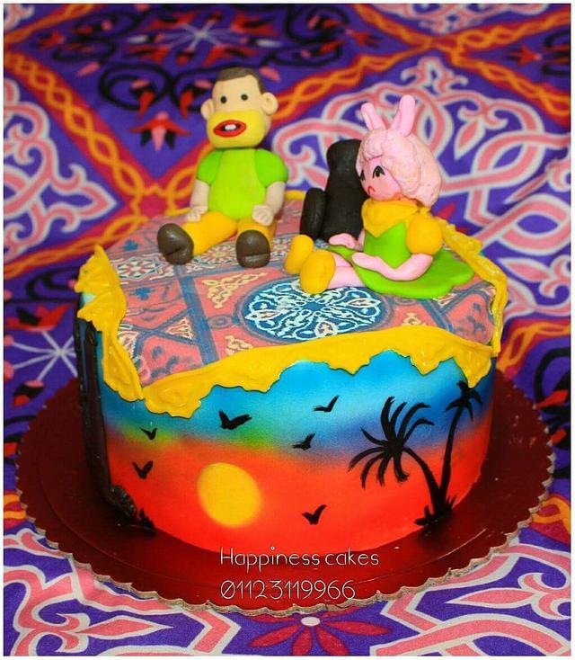Pogy& tamtam cake