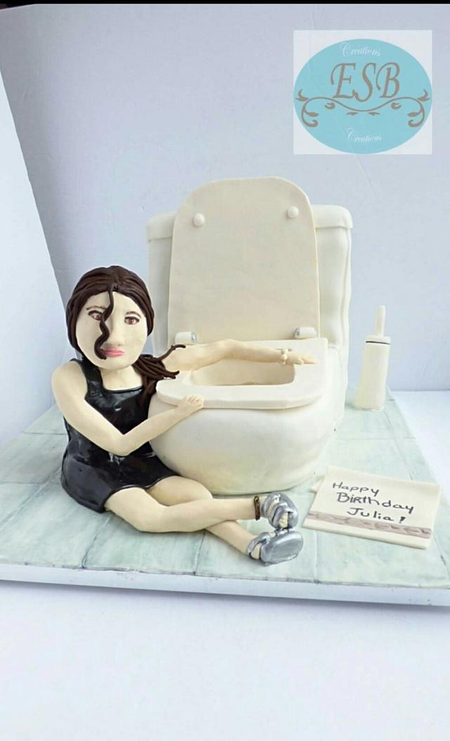 Funny birthday cake