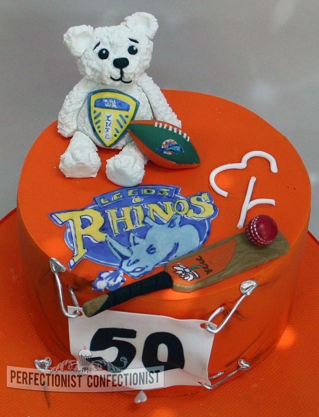 Magnificent Sean A Sport Fans Birthday Cake Cake By Niamh Cakesdecor Birthday Cards Printable Benkemecafe Filternl