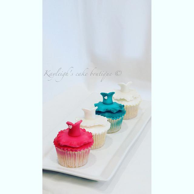 Ballet cupcakes