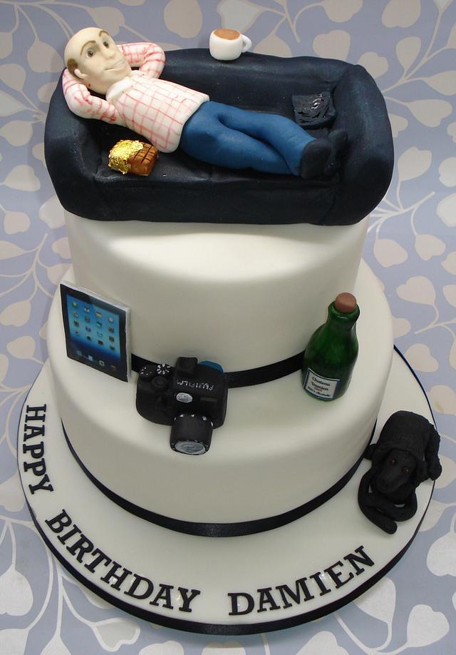 Damien's 50th birthday cake