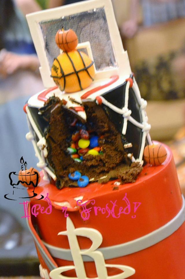 Rockets Basketball cake