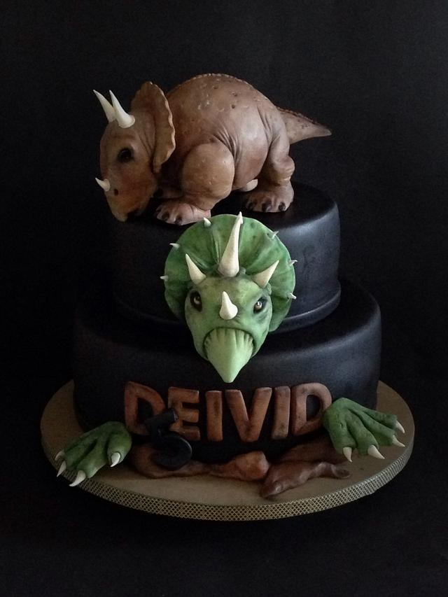 Dinosaurios Cake By Cristina Sbuelz Cakesdecor Con estas increíbles tortas de dinosaurios infantiles vas a impresionarlos a todos, incluso al pequeño. dinosaurios cake by cristina sbuelz
