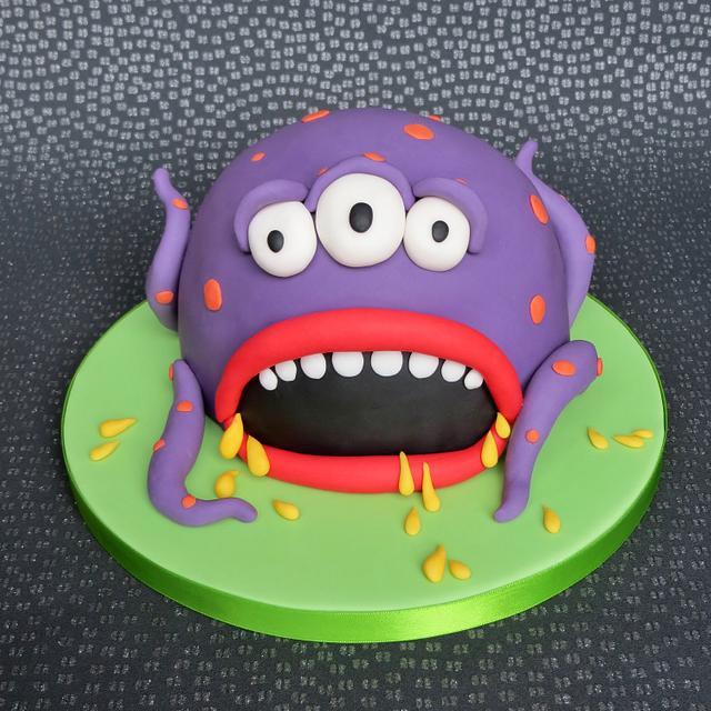 Swamp Monster Cake