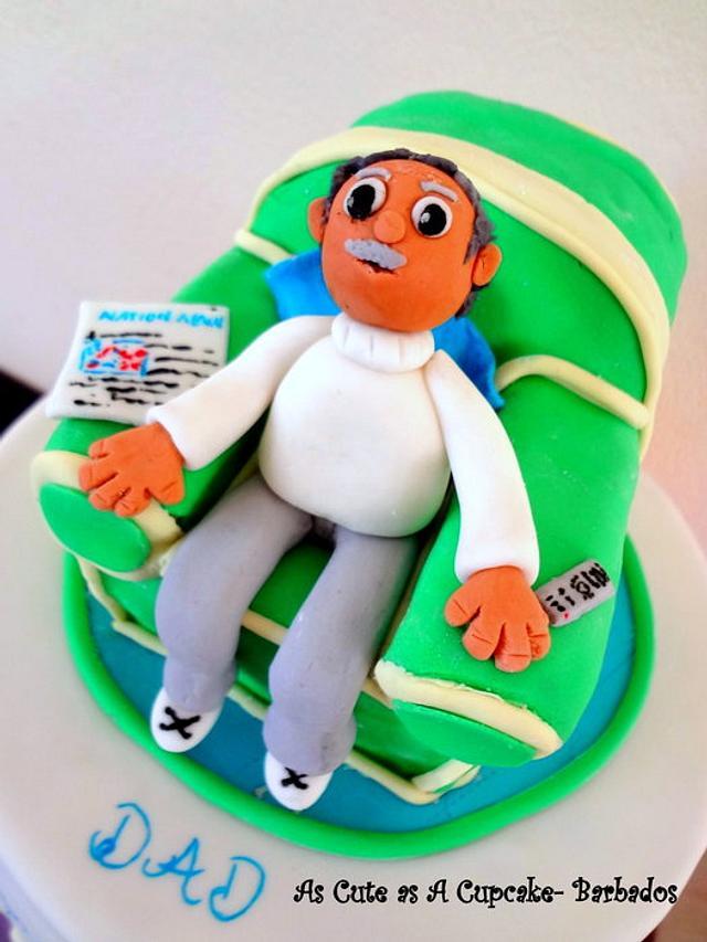 Grandad's Chair Cake