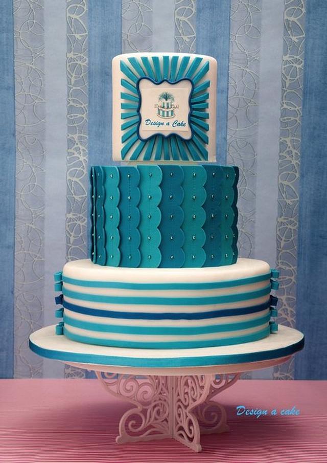 design a cake logo