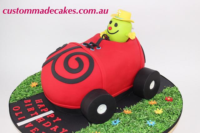 Groovy Mr Funny Birthday Cake Cake By Custom Made Cakes Cakesdecor Funny Birthday Cards Online Barepcheapnameinfo