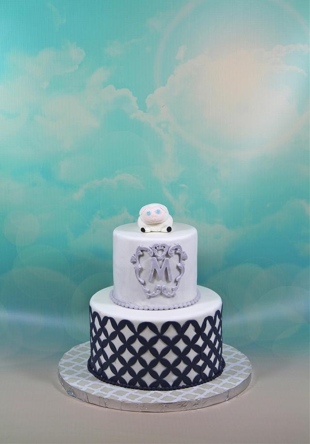 Magnificent Little Lamb Birthday Cake Cake By Soods Cakesdecor Birthday Cards Printable Inklcafe Filternl