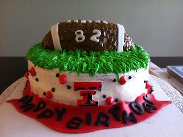 Texas Tech Cake!
