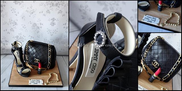 Designer bag & shoe