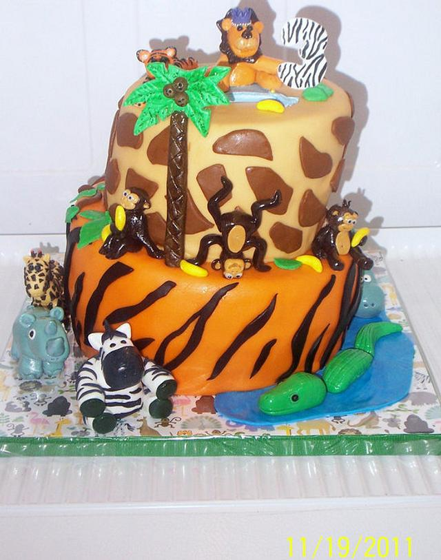 Grandson's Jungle Cake