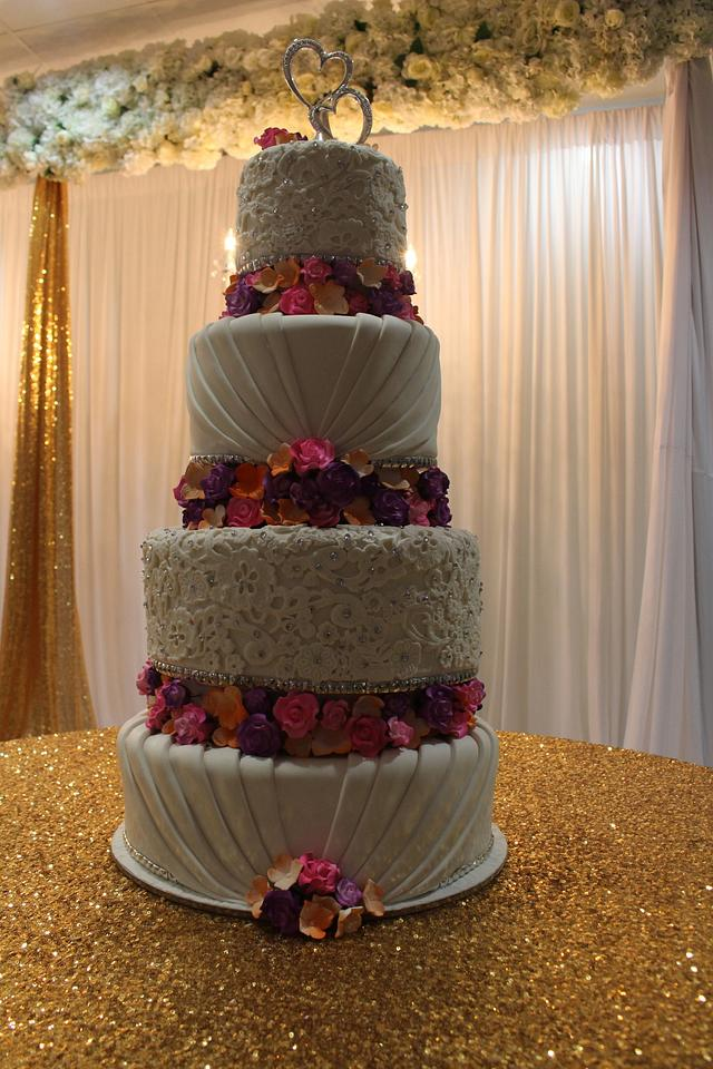 Floral Based Tiers