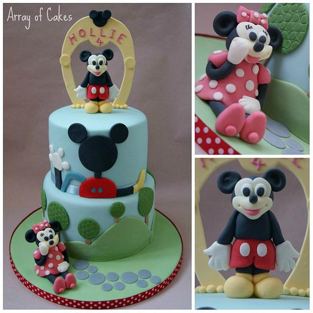 Super Mickey Mouse Clubhouse Birthday Cake Cake By Emma Cakesdecor Funny Birthday Cards Online Overcheapnameinfo