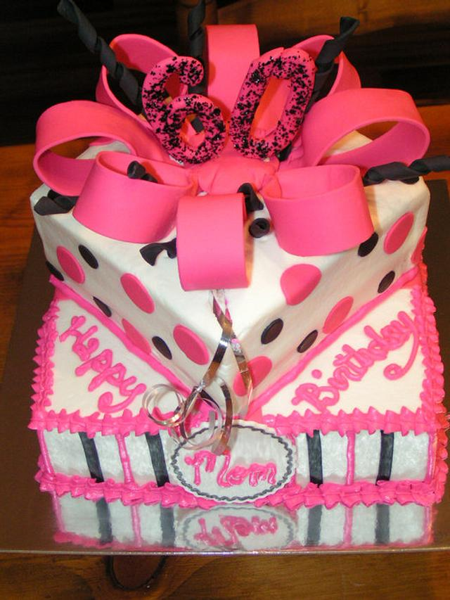 Pink and Black gift boxes