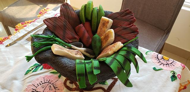 Molcajete Poblano/ food cake challege