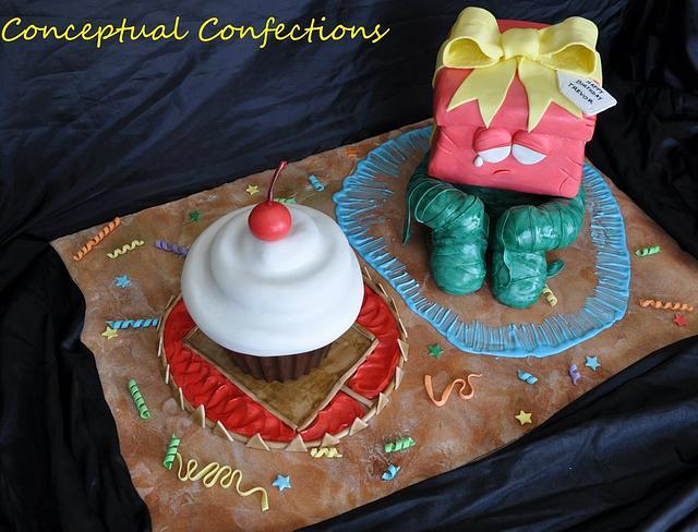 League of Legends Re gifted Amumu Cake
