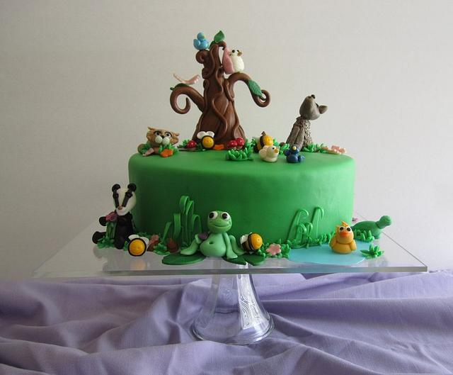 CuriOdyssey Cake