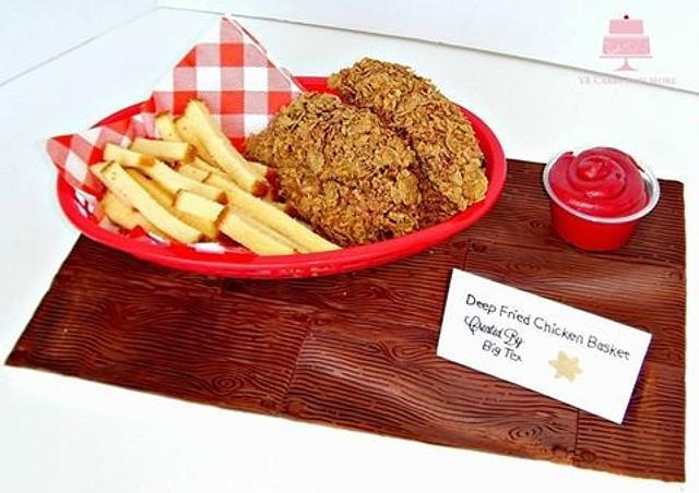 State Fair Of Texas-Fried Chicken Basket