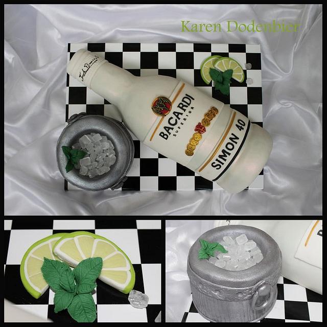 Barcardi cake!