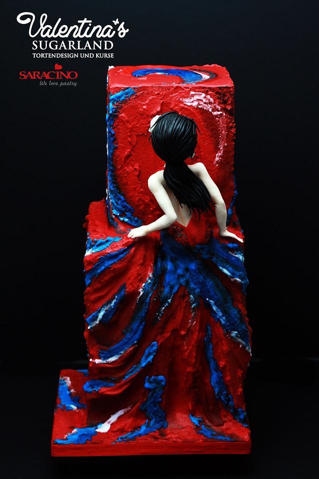 Sugar Art for Autism Collab - my Flamenco Dancer