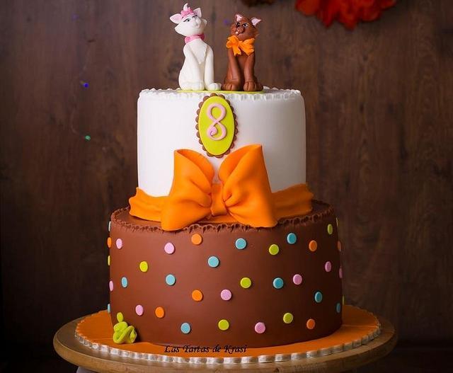 birthday aristocats cake