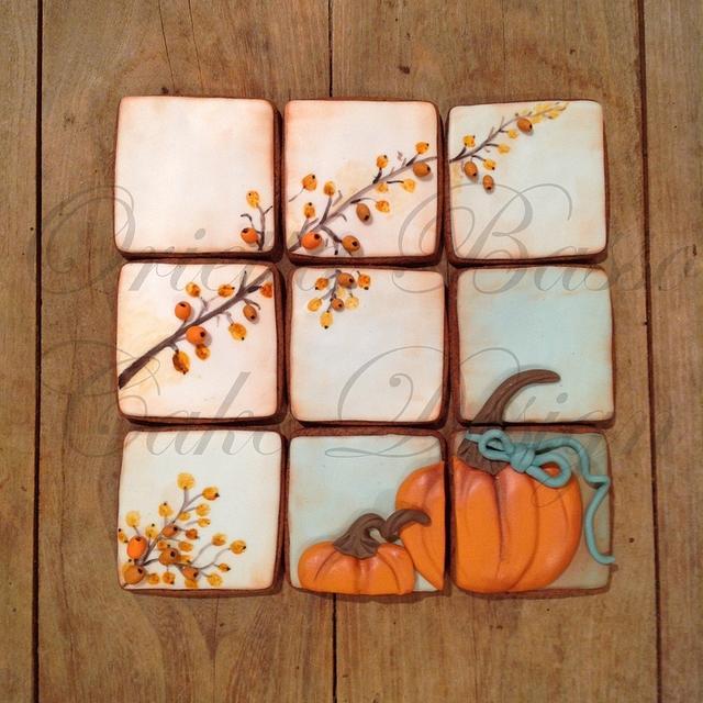 Vintage cookies for Halloween