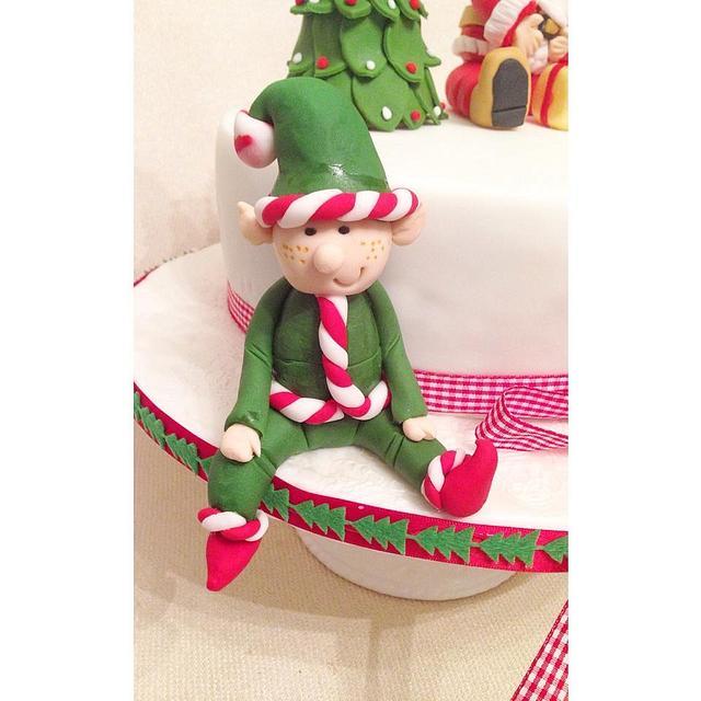 Cute Christmas Cake!
