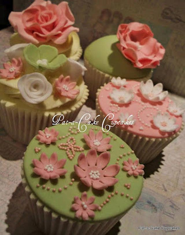 Bows , blooms and stencils