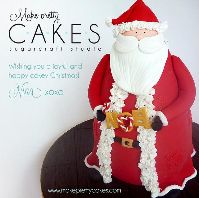 3D Santa cake - my first post on Cakes Decor!