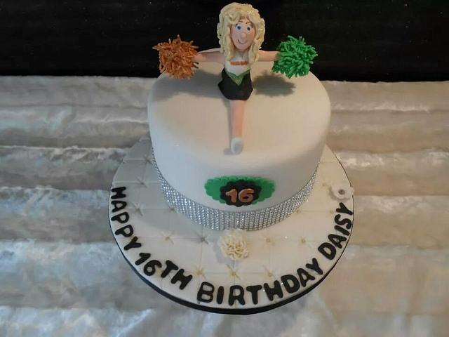 Cheerleader Cake