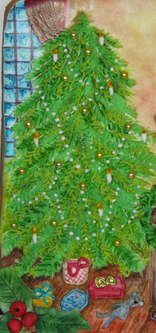 Portrait in Christmas decor!