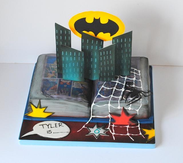 Superhero Pop-up Book
