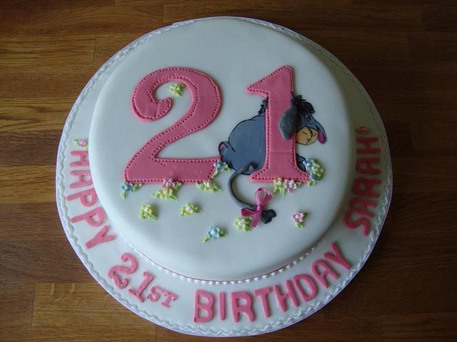 Excellent Eeyore Birthday Cake Cake By Iced Images Cakes Karen Cakesdecor Funny Birthday Cards Online Inifofree Goldxyz