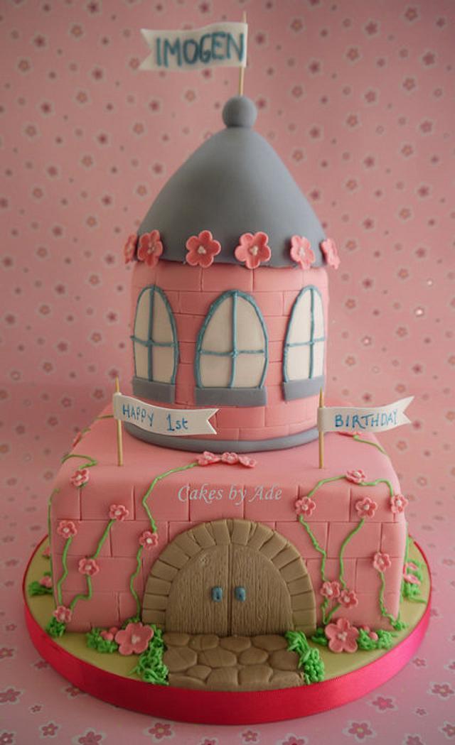 Princess castle cake - April 2011