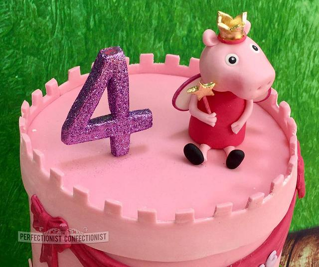 Lila Jane - Peppa Pig Birthday Cake