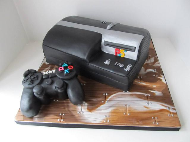 Playstation 3 Cake & Controller