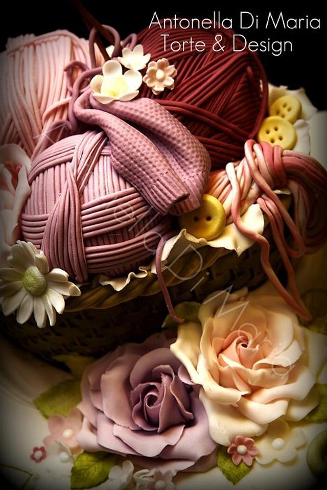 grandma's knitting basket