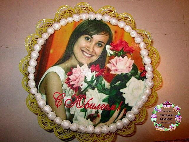 Торт с фото.