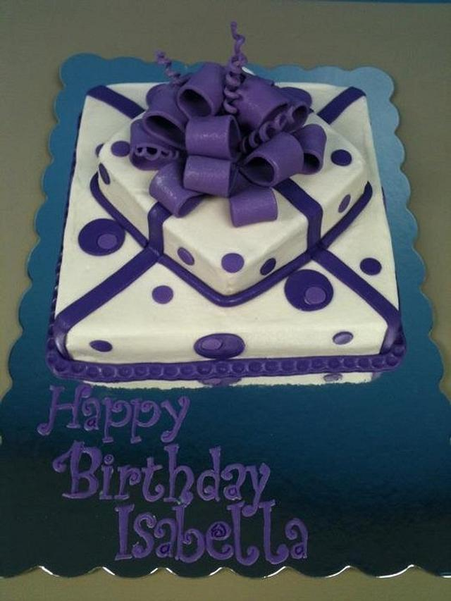 Pretty Purple Present
