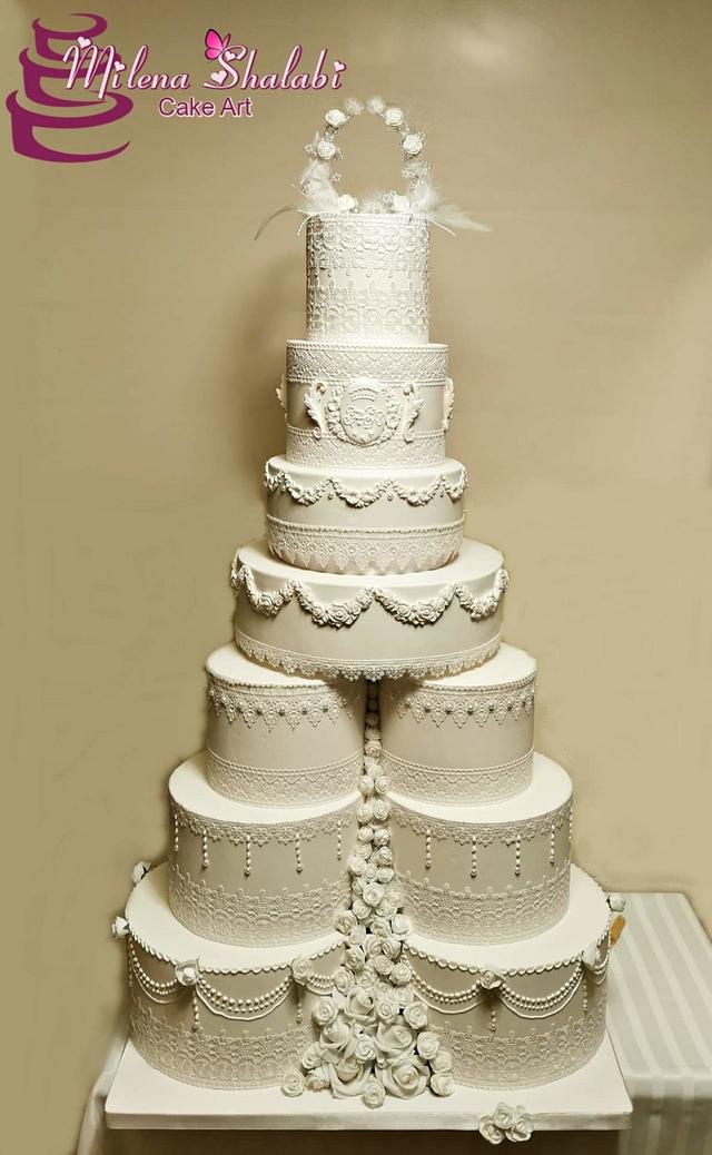 Wedding cake for princes