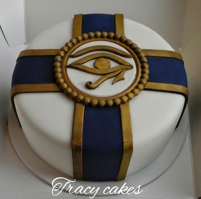 Pleasing Egyptian Theme Cake Cake By Tracycakescreations Cakesdecor Funny Birthday Cards Online Necthendildamsfinfo