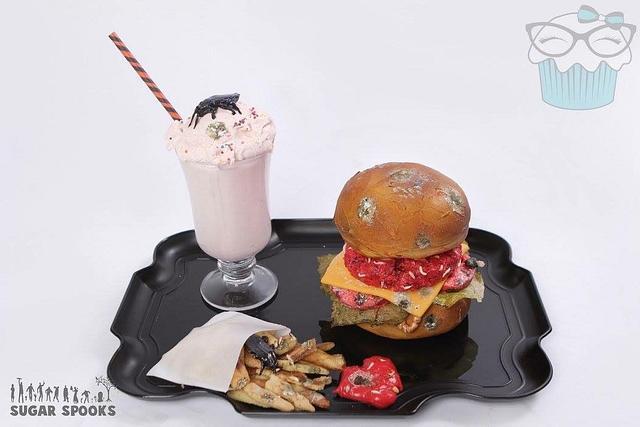 Fresh Meat Burger- Sugar Spooks 2017