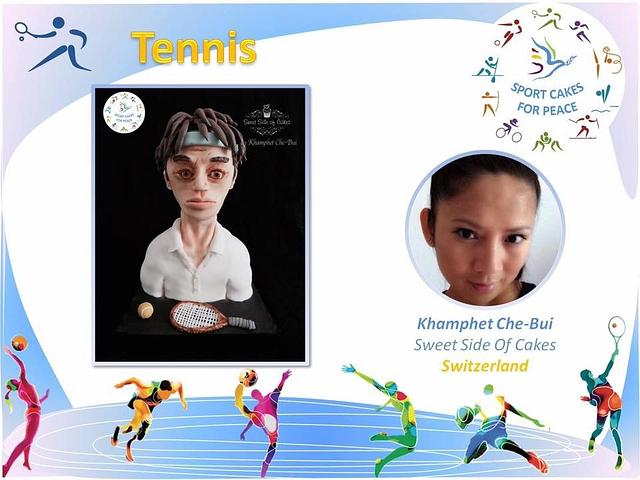 Tennis @Sport Cakes for Peace collaboration