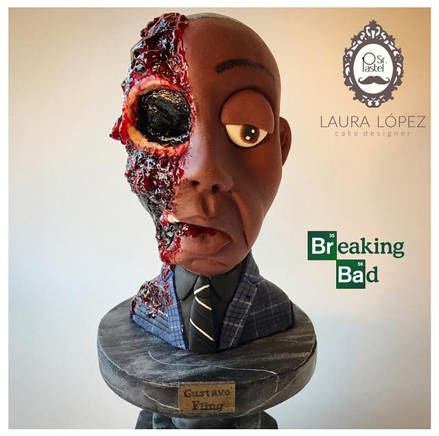 Gus Fring by Sr. Pastel