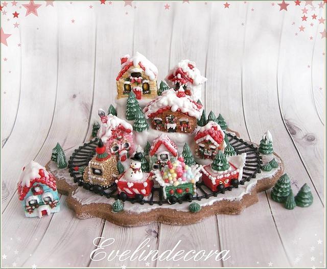 Christmas wonderland cookie