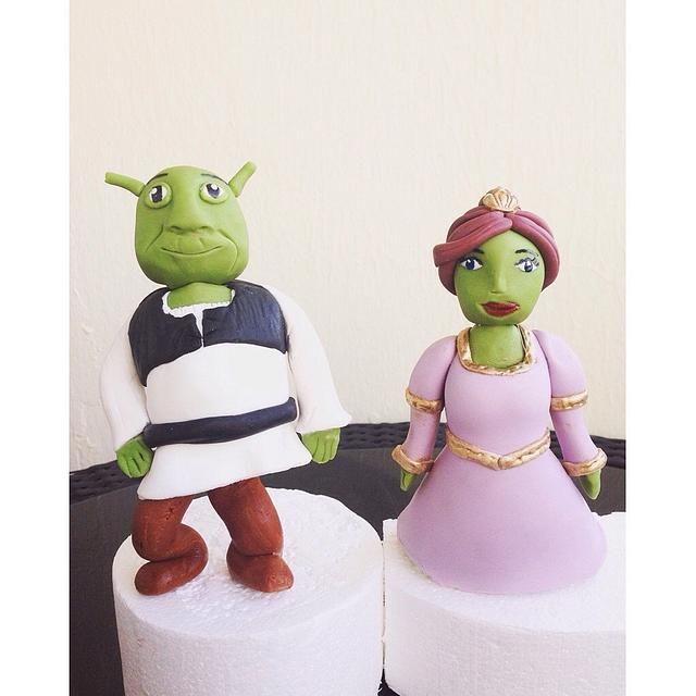 Shrek&Fiona Cake