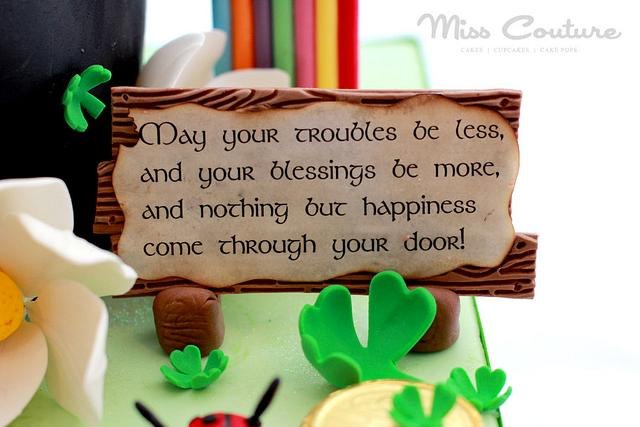 Tiddly Hee, Tiddly Ho! Happy St Patrick's Day to One & All!